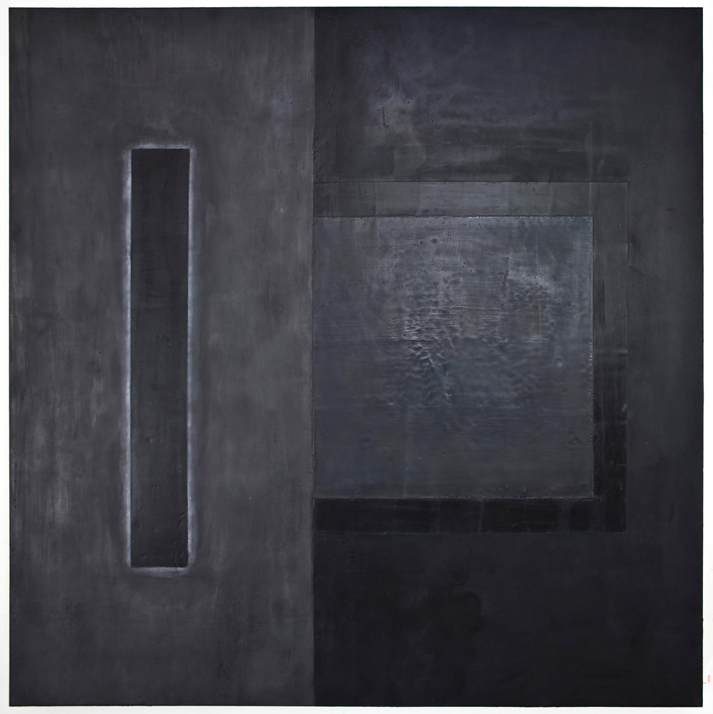 Anima 1- Wax Graphite Pastel on Paper - 40x60 - 2012