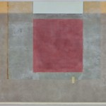 CONSTANT 6 - 24x18 - Wax, Paper and Clay on Panel - 2011