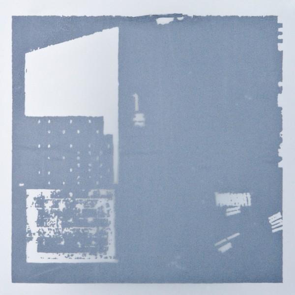 Krista Svalbonas - Wolterdingen 1, aluminum photo-serigraph on mylar, 9x9, 2013