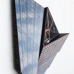Migrator 6, UV print on dibond and wood, 22x14x7, 2016