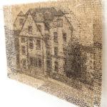 Wurzburg 3, layered laser cut pigment print, 8x10,2018