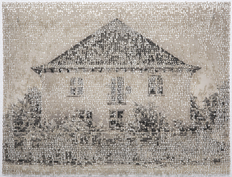 Pinneberg 1, laser cut pigment print, 8x10, 2019